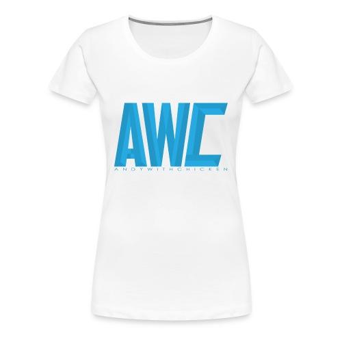 AWC [AndyWithChicken] - Women's Premium T-Shirt