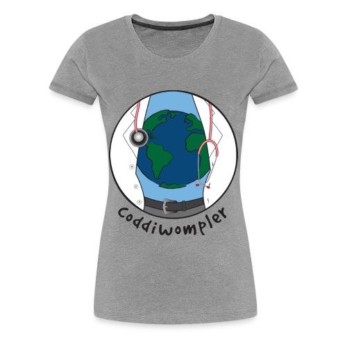Dr. Coddiwompler - woman's short sleeve - Women's Premium T-Shirt