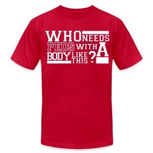 Mens No PEDs shirt - Men's Fine Jersey T-Shirt