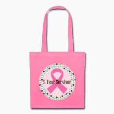 Breast Cancer 5 Year Survivor Bags & backpacks