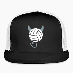 Volleyball Devil Caps