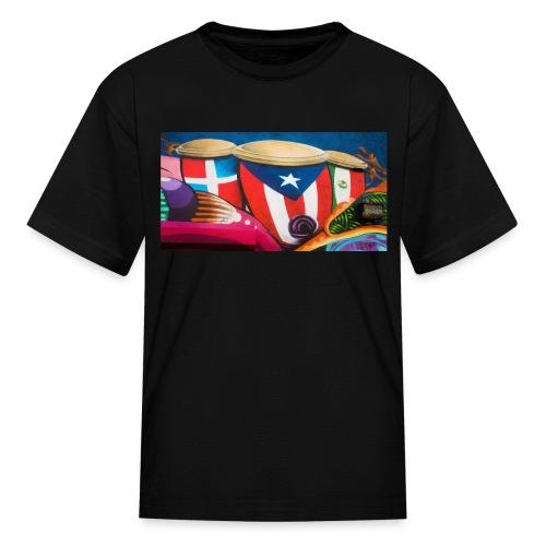 Boricua en El Medio - Kids' T-Shirt
