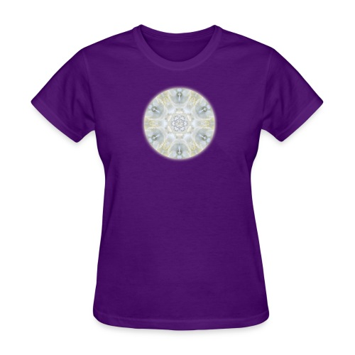Monoi Gardenia Mandala Slim Fit Tee - Women's T-Shirt
