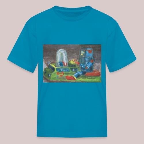 Popomatic-bot T-Shirt  - Kids' T-Shirt