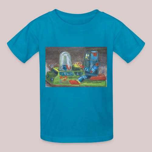 Popomatic-bot T-Shirt  - Kids' T-Shirt