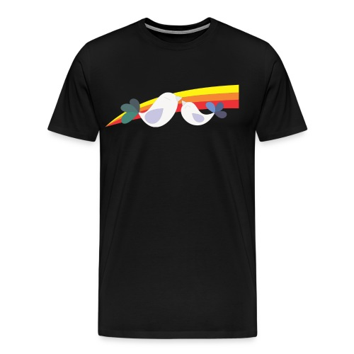Best Cult Ever no words mens shirt - Men's Premium T-Shirt