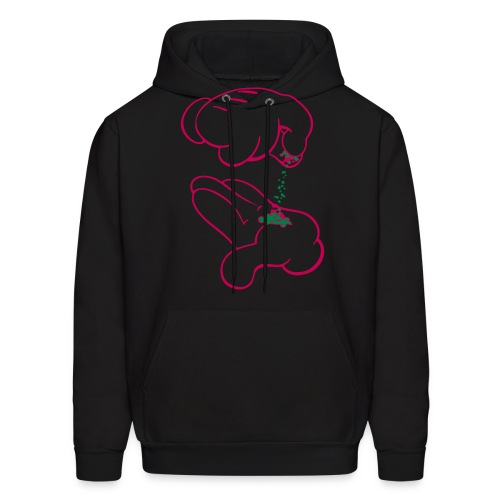 weed hoodie - Men's Hoodie