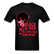 T-Shirts ~ Men's T-Shirt ~ BLACK AND RED