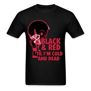 BLACK AND RED - Men's T-Shirt
