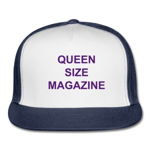 Queen Size Magazine Snap Back Cap - Trucker Cap