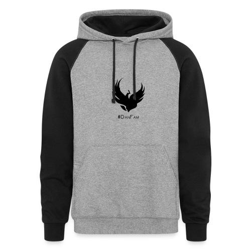 Epic Hoodie Black/Gray - Colorblock Hoodie