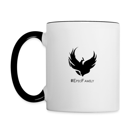 Epic Mug White/Black - Contrast Coffee Mug