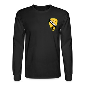 Long Sleve Shirt with Patch  - Men's Long Sleeve T-Shirt