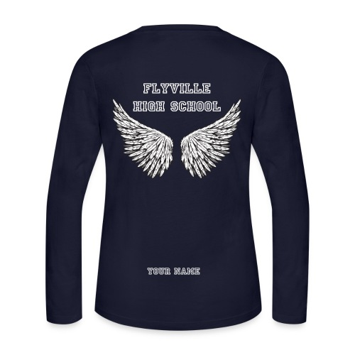 Women: Flyville High School Long Sleeve Shirt - Women's Long Sleeve Jersey T-Shirt