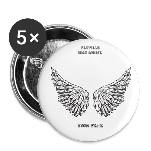 Acessories: Flyville High School Small Buttons - Buttons small 1'' (5-pack)