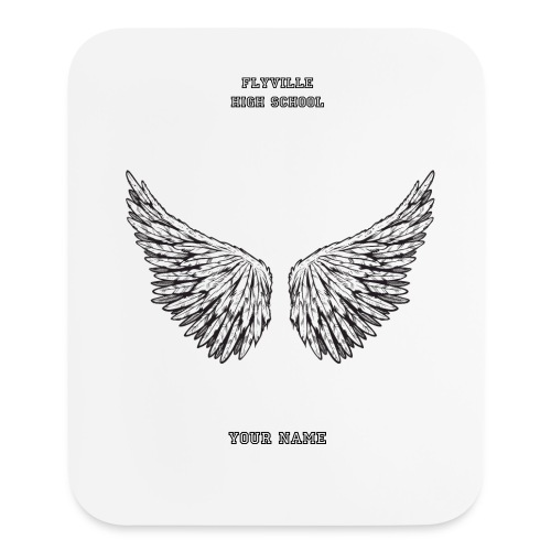 Acessories: Flyville High School Mouse Pad - Mouse pad Vertical