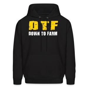DTF - Down To Farm Hoodie :LP - Men's Hoodie