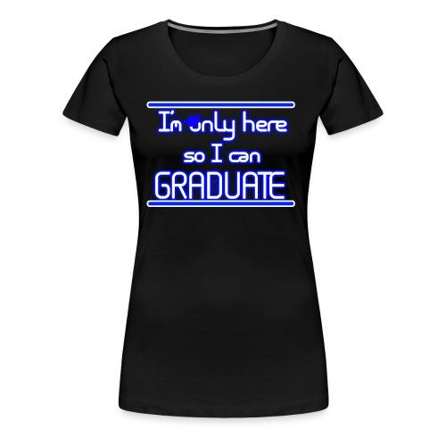 Senior class shirt female - Women's Premium T-Shirt