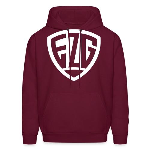 Maroon EZG Sweater - Men's Hoodie