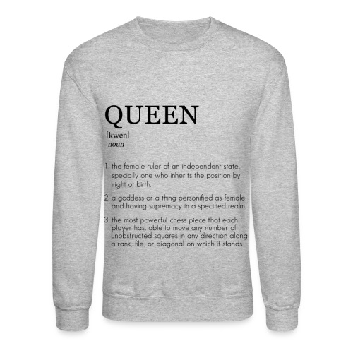 Queen - The Definition Collection Sweatshirt  - Crewneck Sweatshirt