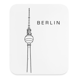Berlin TV Tower  - Mouse pad Vertical