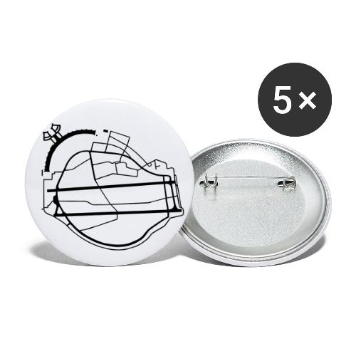 Berlin Tempelhof Airport - Buttons large 2.2'' (5-pack)