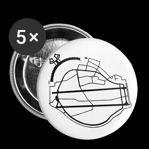 Berlin Tempelhof Airport - Large Buttons
