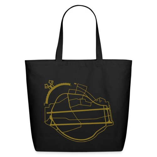 Berlin Tempelhof Airport - Eco-Friendly Cotton Tote