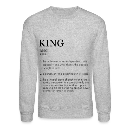 King - The Definition Collection Sweatshirt - Crewneck Sweatshirt