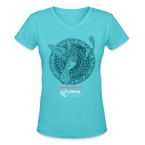 Colibrí - Women's V-Neck T-Shirt