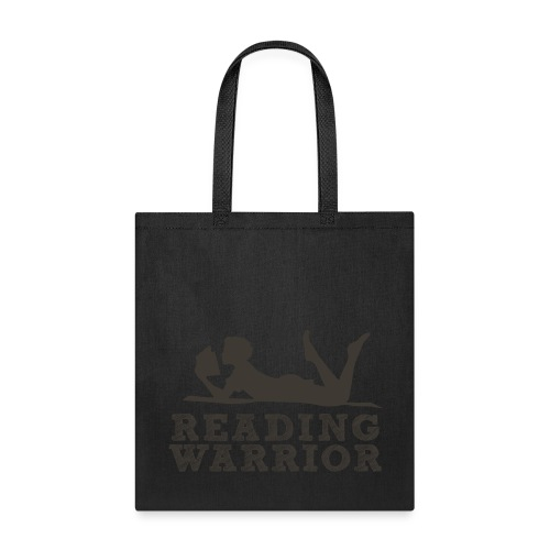 Reading Warrior Tote Bag - Tote Bag