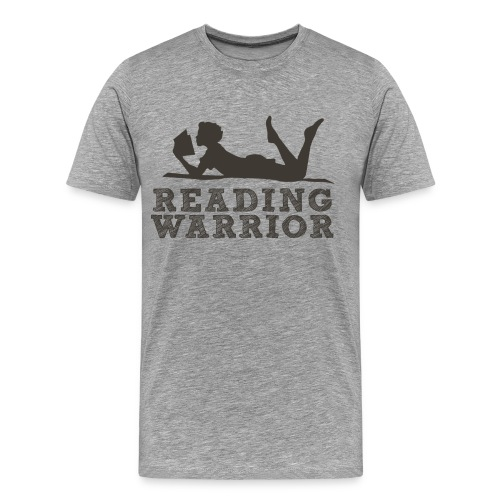 Reading Warrior Men's Premium Shirt - Men's Premium T-Shirt