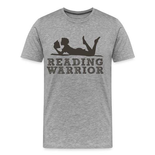 Reading Warrior Men's Premium Shirt - Men's Premium T-Shirt