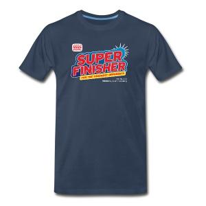 Super Finisher (Men, 3XL-4XL) - Men's Premium T-Shirt