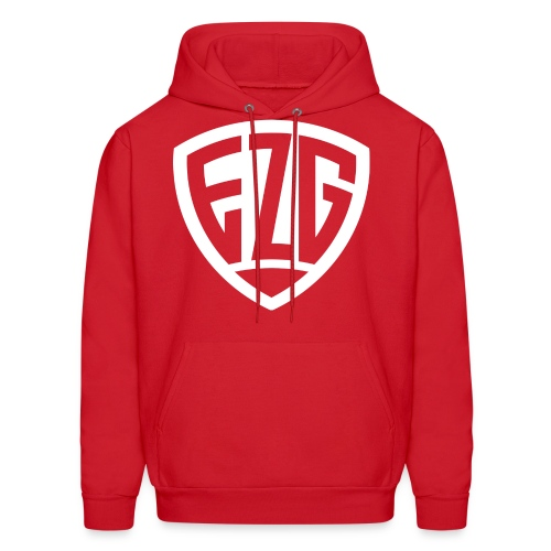 Red EZG Sweater - Men's Hoodie