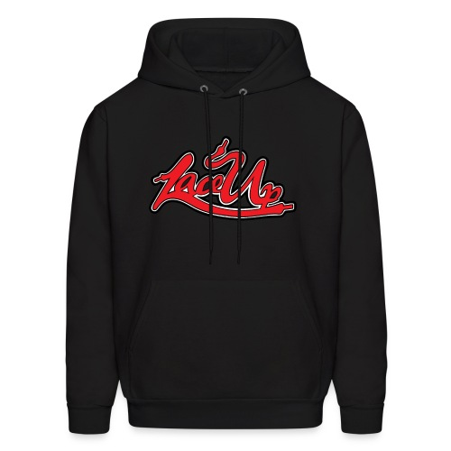Lace the fuck up | blk - Men's Hoodie