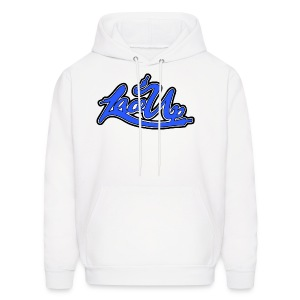 LAce the fuck up   Wht - Men's Hoodie