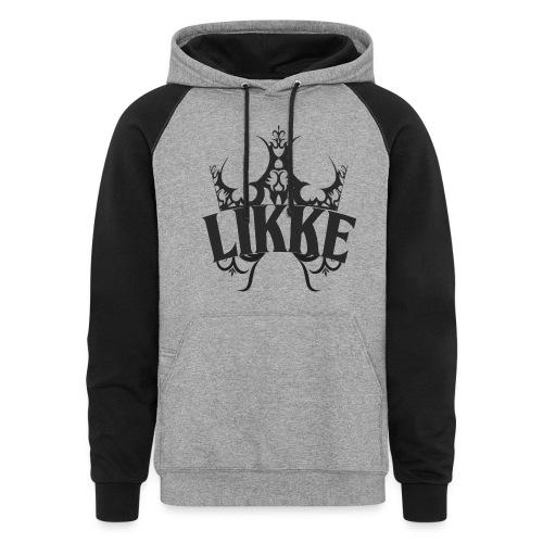 Likke Colorback hoodie 2 - Colorblock Hoodie