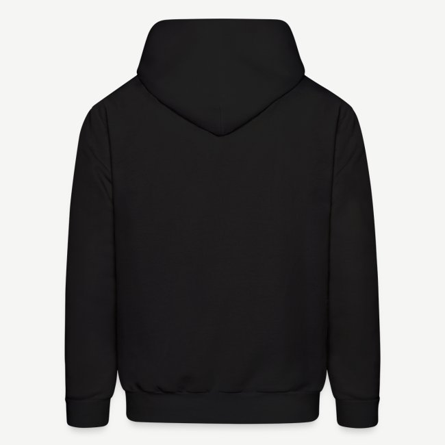 560dd255e HBCU Strong - Men's Black and White Hoodie | Men's Hoodie