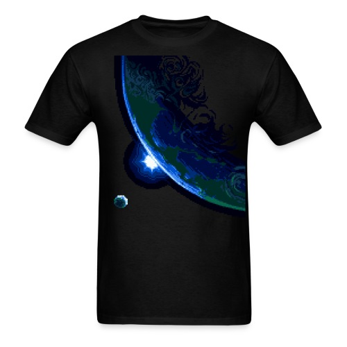 Planet dawn - Men's T-Shirt