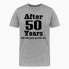 Funny 50th Anniversary T-Shirts