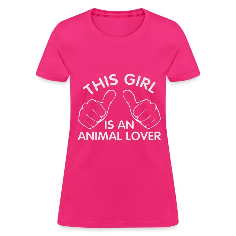 Animal Lover T Shirt Spreadshirt