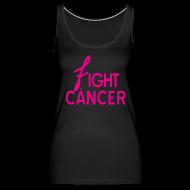 Tanks ~ Women's Premium Tank Top ~ Fight Cancer