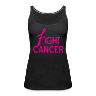 Tanks ~ Women's Premium Tank Top ~ Fight Cancer