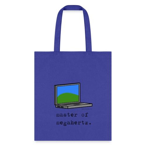 Laptop Tote Bag - master of megahertz. - Tote Bag