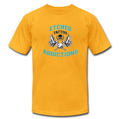 Etched Addictions Tee - Men's Fine Jersey T-Shirt