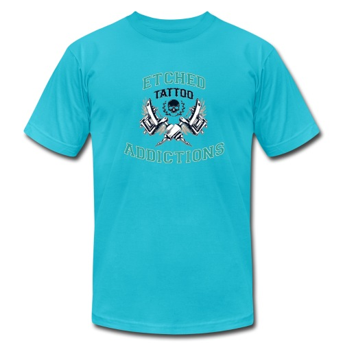 Etched Addictions Tee - Men's  Jersey T-Shirt