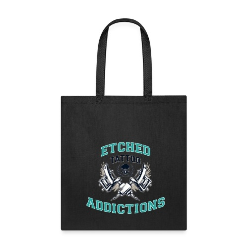 Etched Addictions Tote Bag - Tote Bag