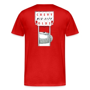 Mid-City Chevy/Olds, BACK - Men's Premium T-Shirt