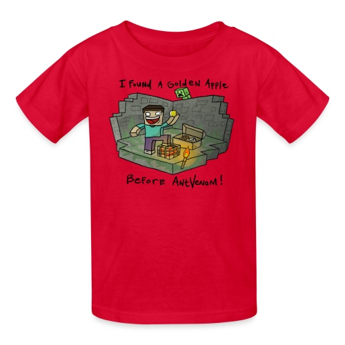 Kid's T-Shirt: Steve's Golden Apple - Kids' T-Shirt